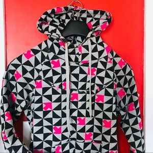 Tops - Geometric Hoodie Size XS